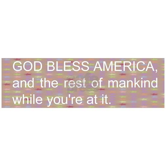 Funny God bless America