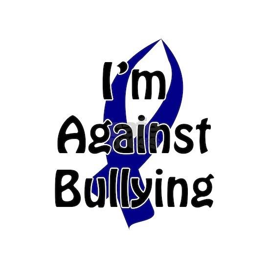 Anti Bullying Blue Ribbon Posters By