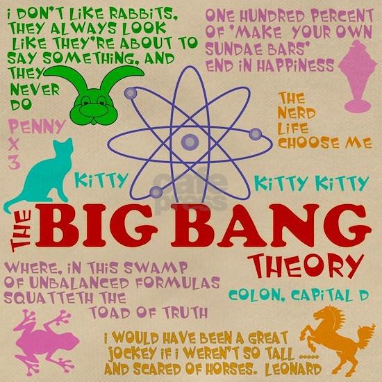 Big Bang Funny Quotes Messenger Bag
