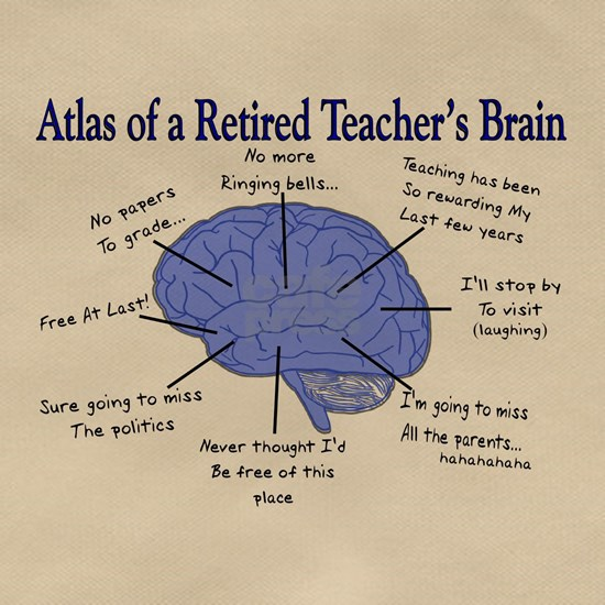 Atlas of a Retired Teachers Brain