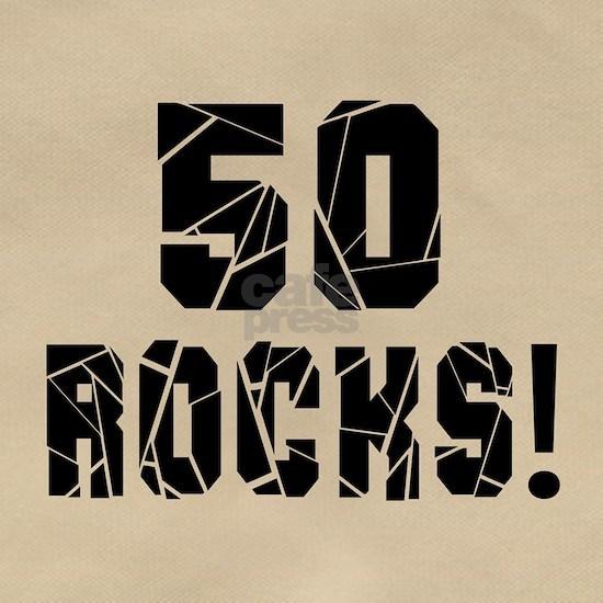 50 Rocks Birthday Designs