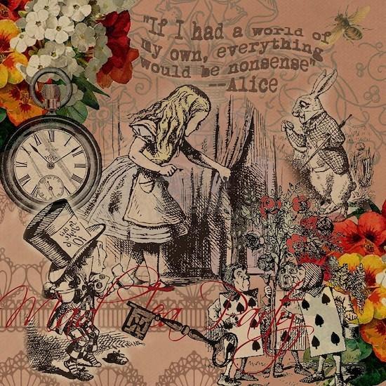 Alice in Wonderland Vintage Adventures
