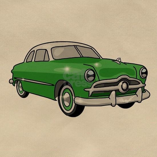 1949 Green Ford Custom