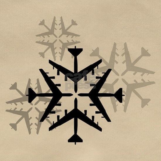 B-52 Aviation Snowflakes