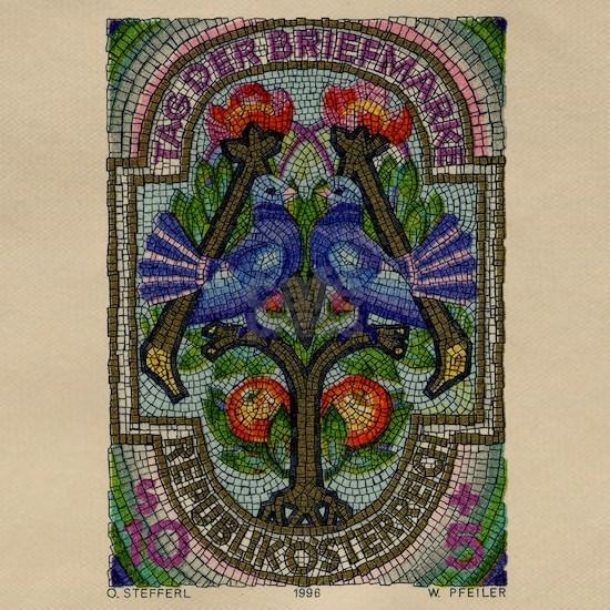 1996 Austria Birds Mosaic Postage Stamp