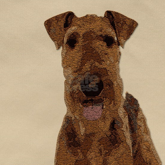 Airedale Painted
