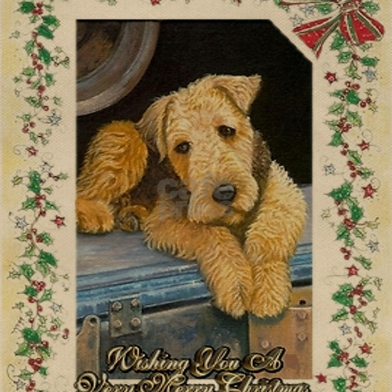 Airedale Terrier Dog Christmas