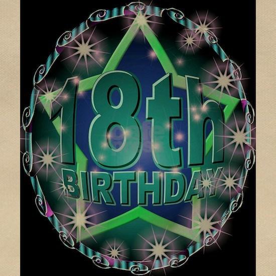 18th birthday celebration art illustration