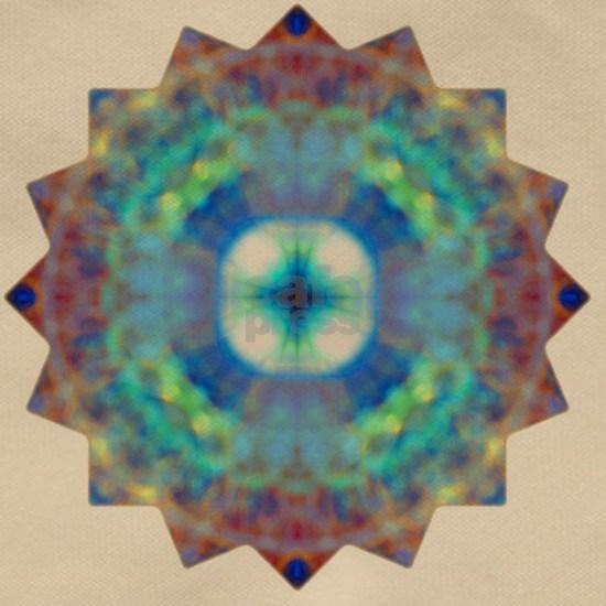 Purple Blue Yoga Mandala Shirt