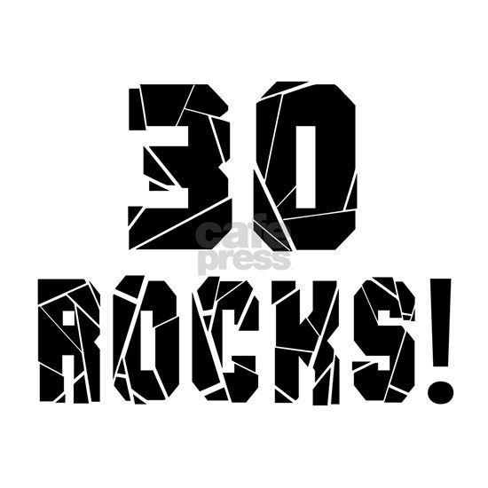 30 Rocks Birthday Designs