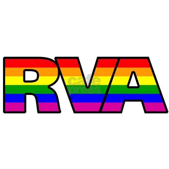 RVA (Richmond, Virginia) Rainbow LGBT Pride Flag