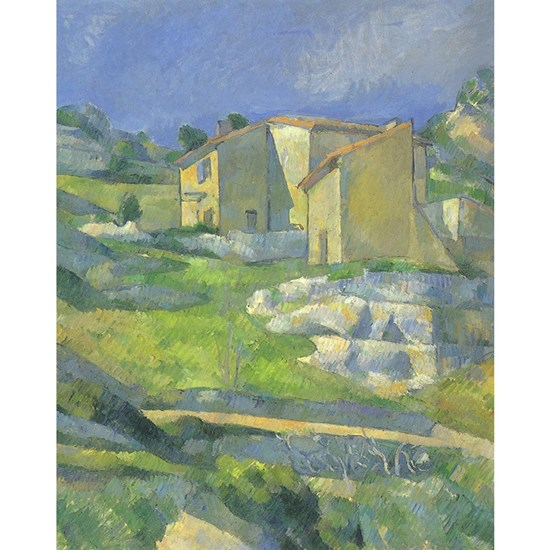 Houses in Provence by Cezanne