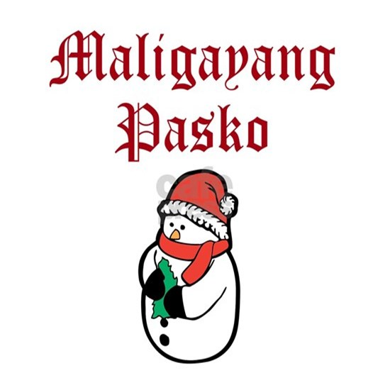 Merry Christmas In Tagalog.Merry Christmas Tagalog Mens Wallet