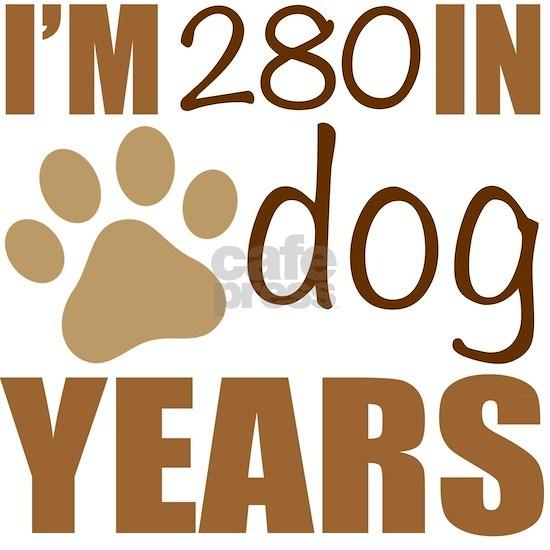 40th Birthday Dog Years
