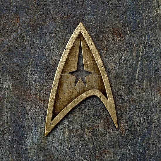 Star Trek Insignia Grunge