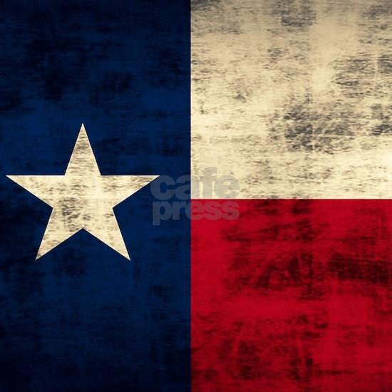 Vintage Grunge Texas Flag