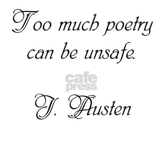 Too much poetry can be unsafe