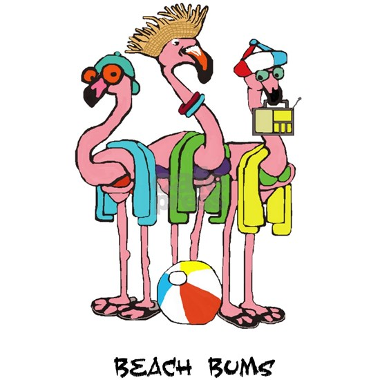 Flamingo Beach Bums