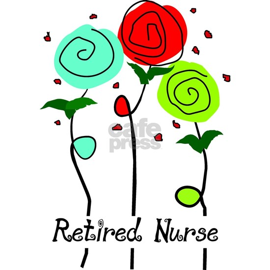 Retired Nurse Floral