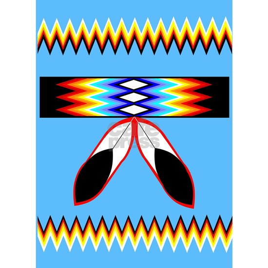 NATIVE AMERICAN BEADED STRIP