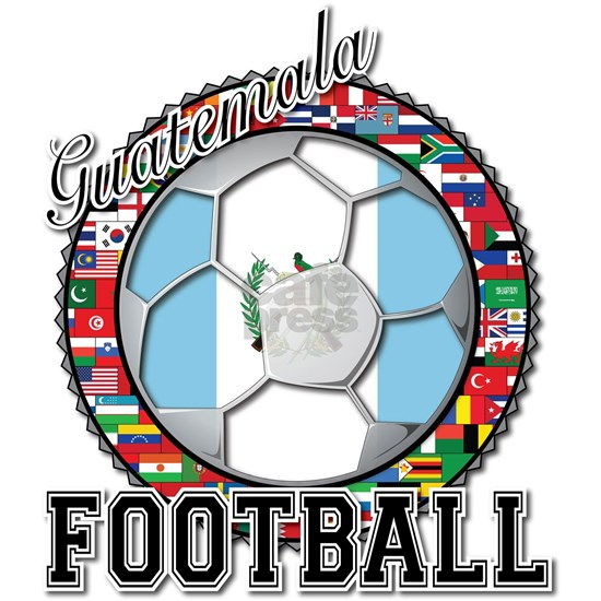 Guatemala Flag World Cup Football Soccer Ball