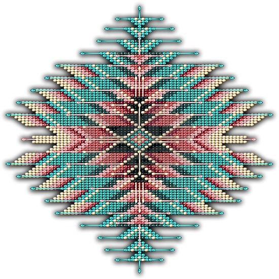 Southwest Native Style Sunburst Shower Curtain by ...