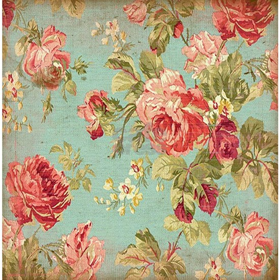 Beautiful Vintage rose floral