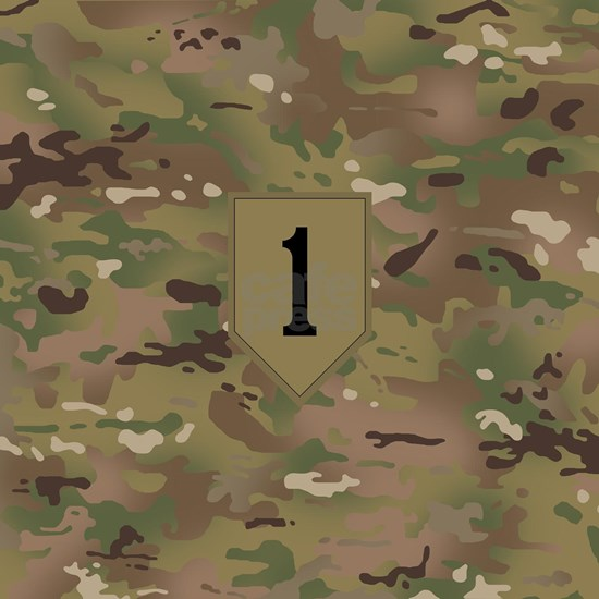 Camouflage: 1st Infantry Division