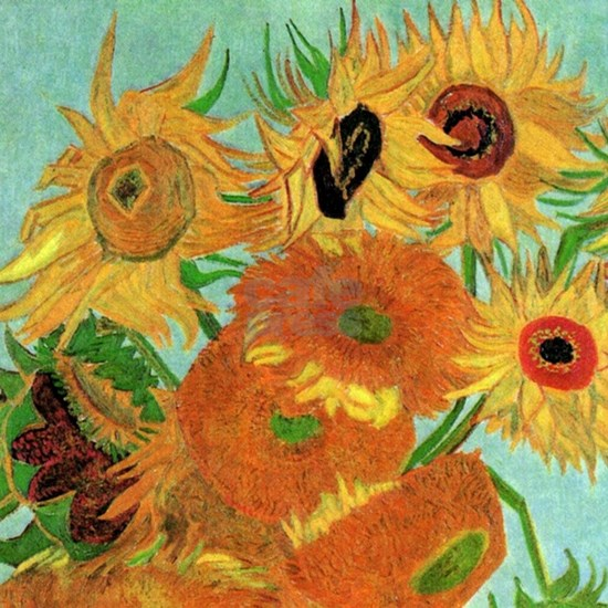 Van Gogh twelve sunflowers