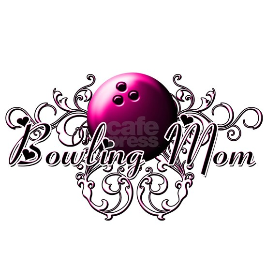 Bowling Mom (pink ball)