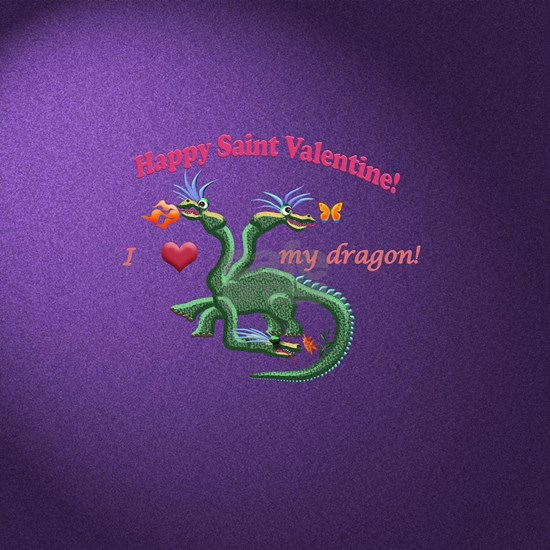 Saint Valentine dragon