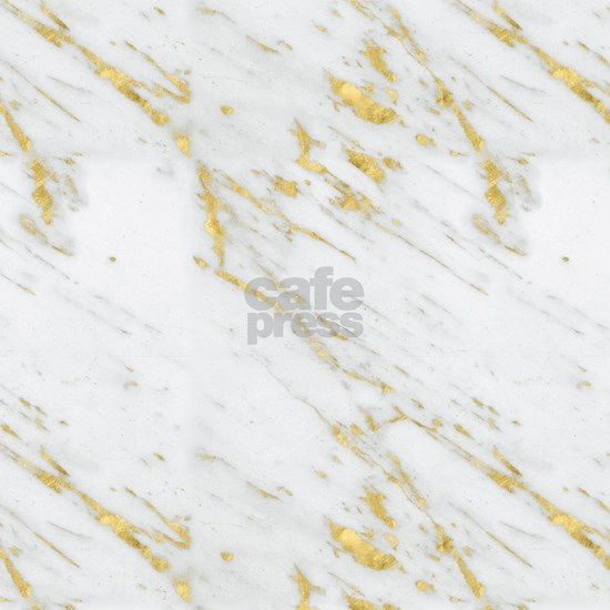 White and gold marble texture