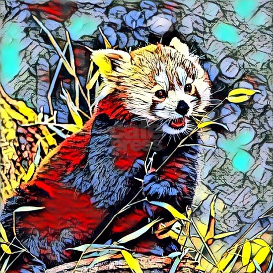 Color Kick -red panda
