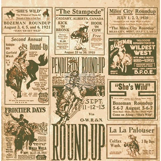Vintage Rodeo Round-Up