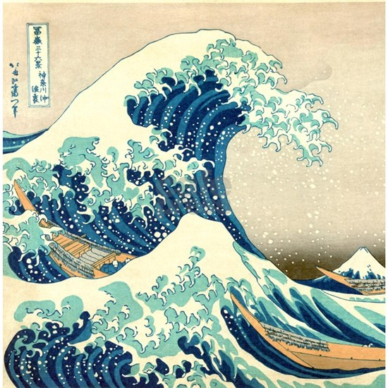 Great Wave off Kangawa by Hokusai