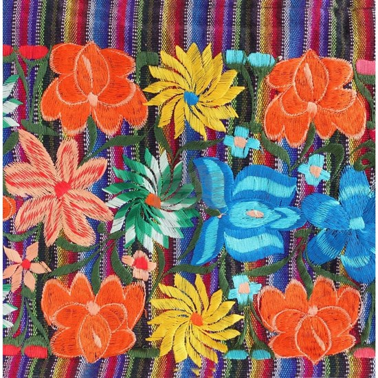 Mexican Flower Embroidery
