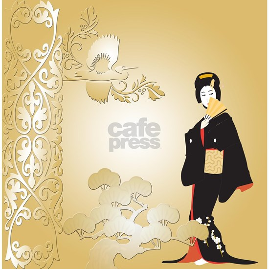 Japanese Woman in Beige