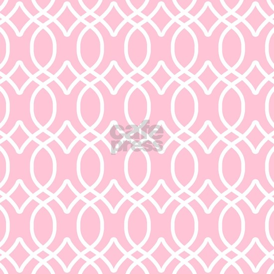 ogee links sq white lt pink