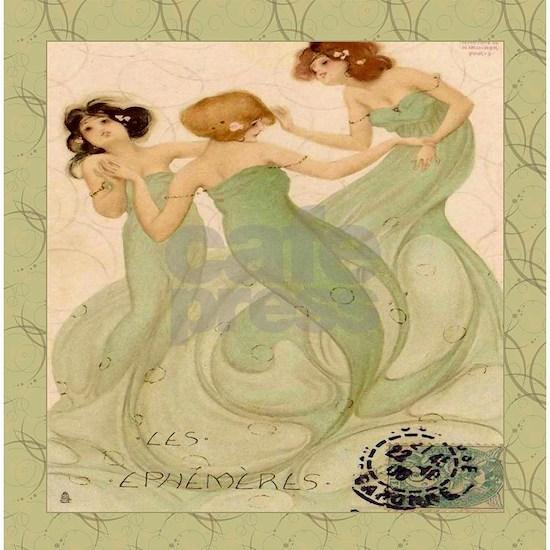 Vintage French Mermaid