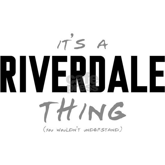 It's a Riverdale Thing