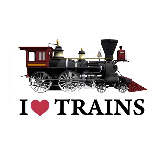 I LOVE TRAINS copy