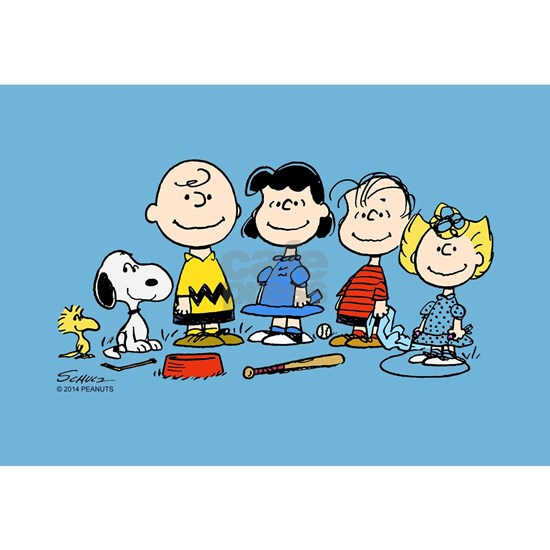 Peanuts Gang Pillow Case