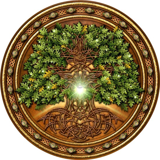 Celtic Sacred Trees - Oak