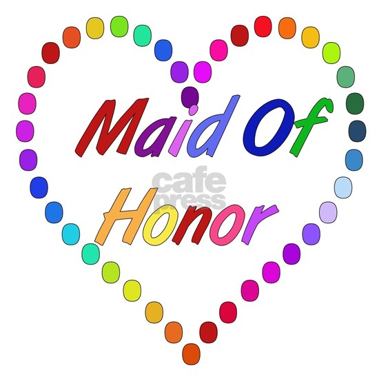 Rainbow Maid Of Honor