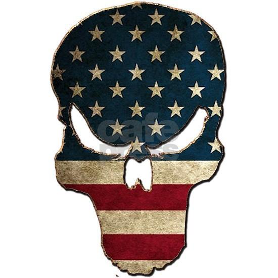 Punishing Skull with American Flag
