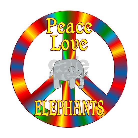 Peace Love Elephants