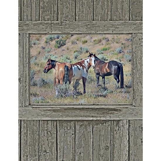 Old window horses 3