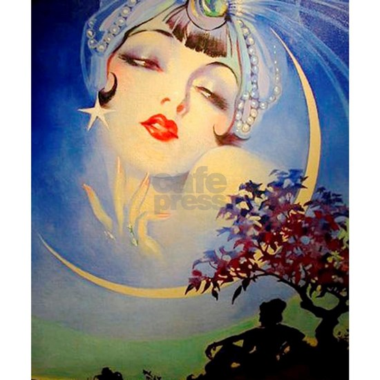 Henry Clive Woman in the Moon, Art Deco