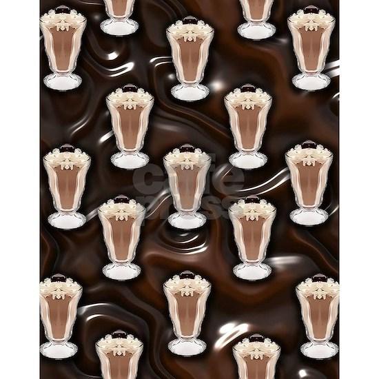 Chocolate Milk Shake Pattern