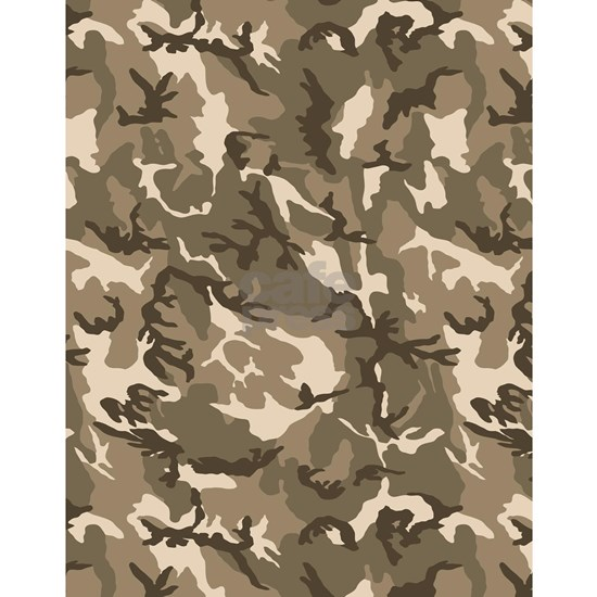 Tan Camouflage Pattern